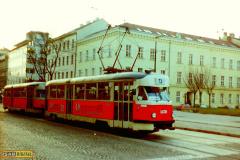 1998 - Brno, reklamní tramvaj T2 č. 1470