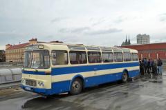 2019 - 11 16 - Brno, 80ky v Brně, jízda historickým autobusem ŠL11