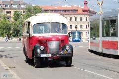 2020 - 05 16 - Brno, Koronavirový průvod vozidel TMB, 2