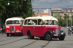 2020 - 05 16 - Brno, Koronavirový průvod vozidel TMB