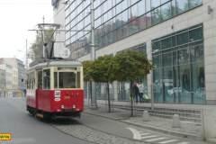 2014 - Katowice 1. část, tramvajová linka 38