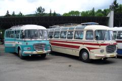 2006 - 05 27 - Lešany, Sraz autobuů