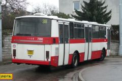 2015 - Poslední autobusy řady Karosa 700 v Brně
