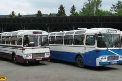 2015 - Sraz historických autobusů v Lešanech