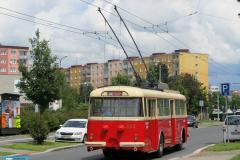 2016 - 06 18 - Oslavy 75. výročí trolejbusové dopravy v Plzni