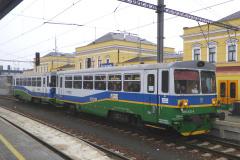 2016 - 11 25 - Šumperk, nasazení lokomotivy ARRIVA 140 079