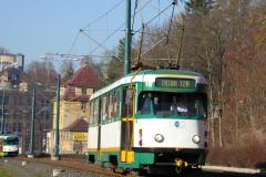 2018 - 10 30 - Liberec, tramvaje T2