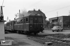 Historie - 1985 železnice