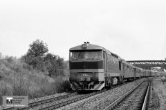 Historie - 1987 železnice