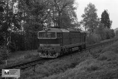 Historie - 1989 železnice