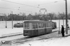 TMB - 1984 Výjezd tramvaje č. 126