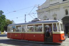 Retro  2019 - 08 15 - Brno, 150 let DPmB, Tiskovka