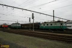 2012 - 11 17 - Olomouc kovošrot, 141054 a v depu 121064 IDS, 122027, 031 a 047