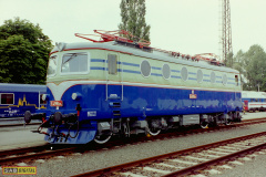 2001 - 06 15 - Ostrava, 140004 s novým lakem na Raildays