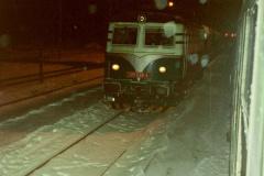2002 - 01 12 - Nezamyslice, 140089 na Os večer se sněhem