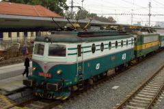 2002 - 09 28 - Ostrava 140004 a Drahotuše 140094, 40 let elektrifikace
