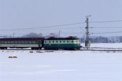 2005 - 03 04 - Nezamyslice, 140089 na Os, sníh