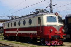 2007 - 07 21 - Přerov, 140076 po opravě v bílo-červeném nátěru a Olomouc Depo