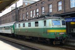 2007 - 08 04 - Olomouc, 140085 dojezd z Os a vystřídána žehličkou a 141055