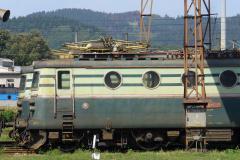 2007 - 08 23 - Žilina, 140058 na Os do Ružomberok, 140001 na nákladním kolem depa, v depu 045 a 67