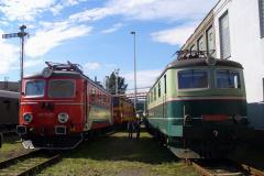 2007 - 09 29 - Bohumín, Den železnice, 140004, 42 a 141004 s EP 05 23, Ostrava na točně 140079 ODOS