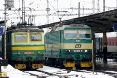 2009 - 02 24 - Olomouc a Nezamyslice 140085 na Os se sněhem a 141009, 18, 23