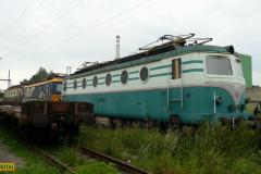 2009 - 07 28 - Olomouc, 140085 míjení 2 s Pendolinem a 141054, Přerov DPOV, 140094 a 140074-ET13R002