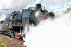 2011 - 10 15 - Přerov, oslavy, 140004 na zvl. R, 140079 na nákladním a 141023 odstavená
